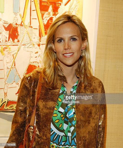 Tory Burch during Jamie Tisch Hosts Cocktail Party and Dinner in Honor of Tory Burch at Private Residence in Beverly Hills California United States