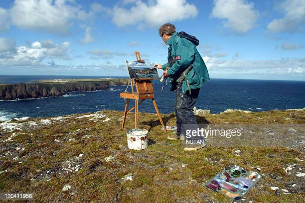 Tory Island Ireland in 2004 Tory Island on the north west coast is renowned for her naive and landscape painters Patsi Dan Mc Ruary is the king of...