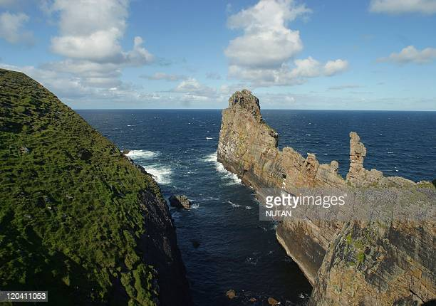 Tory Island Ireland The cliffs of Tòrmore have given their name to the new island ferry that links Tory to Magherroarty pier