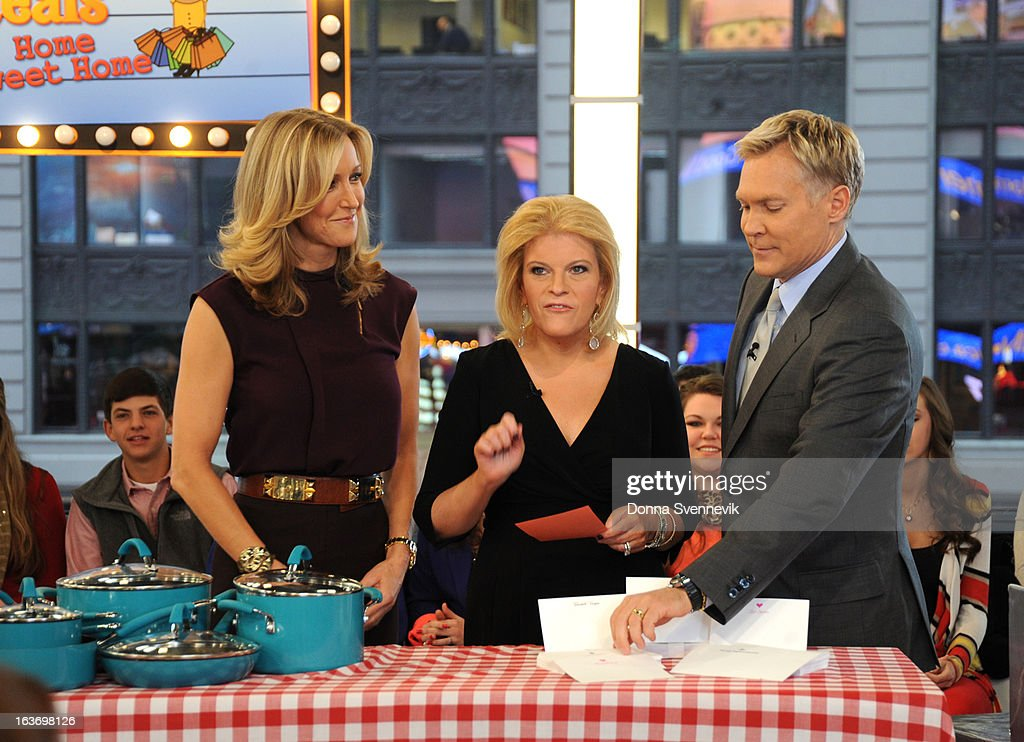 AMERICA - Tory Johnson shares deals and steals on 'Good Morning America,' 3/14/13, airing on the ABC Television Network. (Photo by Donna Svennevik/ABC via Getty Images) LARA