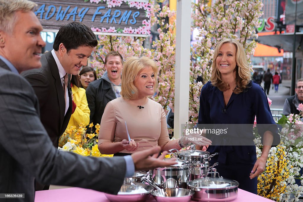 AMERICA - Tory Johnson shares some deals and steals on 'Good Morning America,' 4/10/13, airing on the ABC Television Network. (Photo by Fred Lee/ABC via Getty Images) SAM