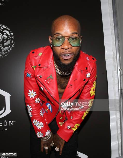 Tory Lanez attends HOT 97 Summer Jam 2017 at MetLife Stadium on June 11 2017 in East Rutherford New Jersey