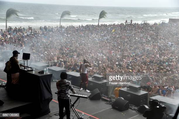 Tory Lanez performs at the Surf Stage during 2017 Hangout Music Festival on May 20 2017 in Gulf Shores Alabama
