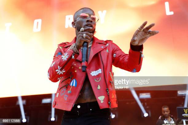 Tory Lanez performs during the 2017 Hot 97 Summer Jam at MetLife Stadium on June 11 2017 in East Rutherford New Jersey
