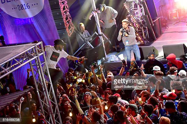 Tory Lanez performs onstage at Pandora Discovery Den during the 2016 SXSW Music Film Interactive Festival at The Gatsby on March 18 2016 in Austin...