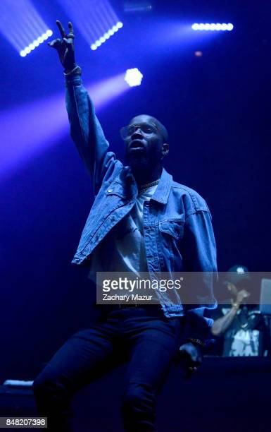 Tory Lanez performs onstage during day 2 at The Meadows Music Arts Festival at Citi Field on September 16 2017 in New York City