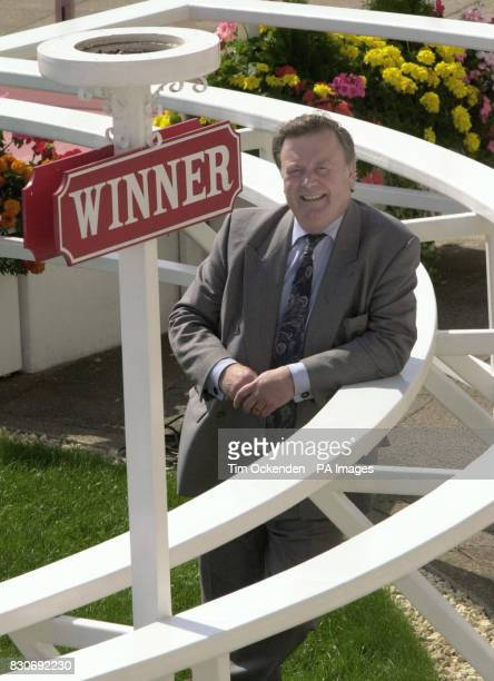 Tory leadership contender Kenneth Clarke at the Winner's Enclosure at a Conservative Leadership meeting at Epsom Racecourse on the day rival Iain...