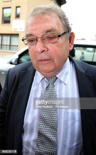 Tory peer Lord Hanningfield arrives at Chelmsford Magistrates Court in Chelmsford Essex where he is due to go on trial accused of fiddling his House...