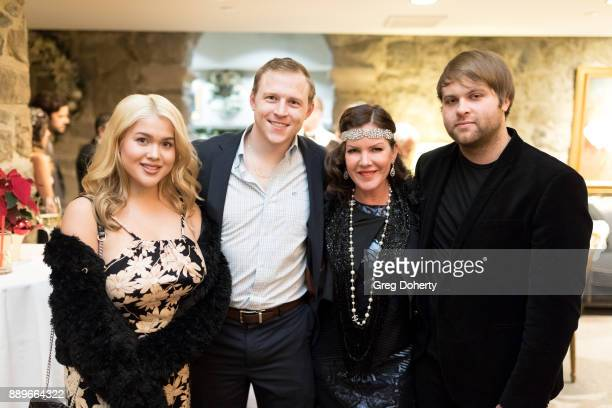 Tory Ross Michael Grizzard Kira Reed Lorsch and Joshua Erp attend The Thalians Hollywood for Mental Health Holiday Party 2017 at the Bel Air Country...