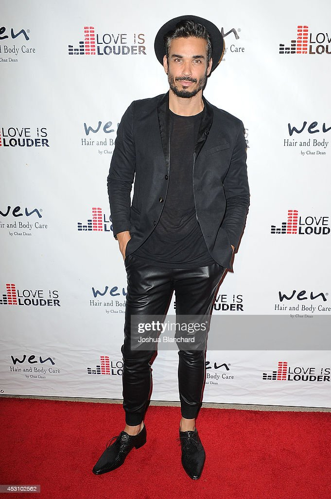 Tosh Yanez arrives at Chaz Dean's Summer Party benefiting Love Is Louder on August 2, 2014 in Los Angeles, California.