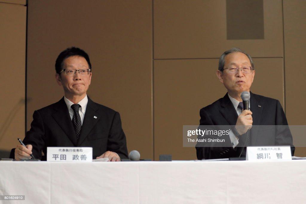 Toshiba Corp Press Conference