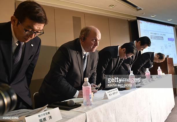 Toshiba President Masashi Muromachi Vice President Shigenori Shiga Managing Executive Officer Masayoshi Hirata Westinghouse Electric Co President...