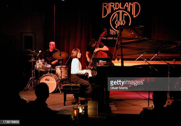 Toshiko Akiyoshi performing with her trio at Birdland jazz club Manhattan New York NY September 22 2004 The Toshiko Akiyochi Jazz Orchestra featuring...