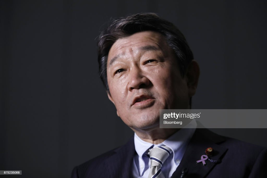 Japan's Economy Minister Toshimitsu Notegi Interview