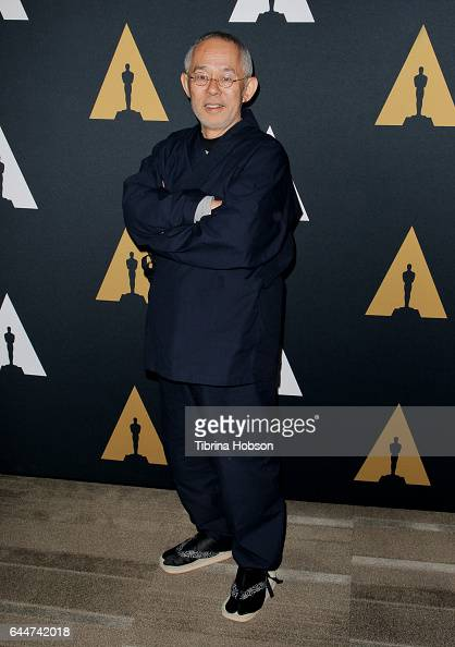 Toshio Suzuki attends the 89th Annual Academy Awards Oscar Week celebration for Animated Features at Samuel Goldwyn Theater on February 23 2017 in...