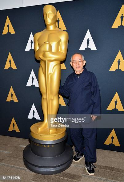 Toshio Suzuki nominated for his film 'The Red Turtle arrives to the 89th Annual Academy Awards Oscar Week reception for films in the Animated Feature...
