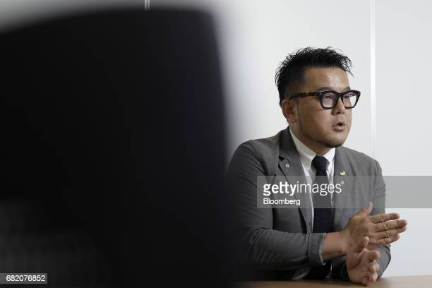 Toshiyuki Kiyomiya president and chief operating officer of Chikaranomoto Holdings Co speaks during an interview in Tokyo Japan on Tuesday May 9 2017...