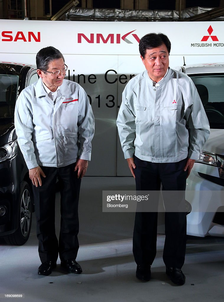 Mitubishi And Nissan Hold Line Off Ceremony For Their Jointly Developed Minicar