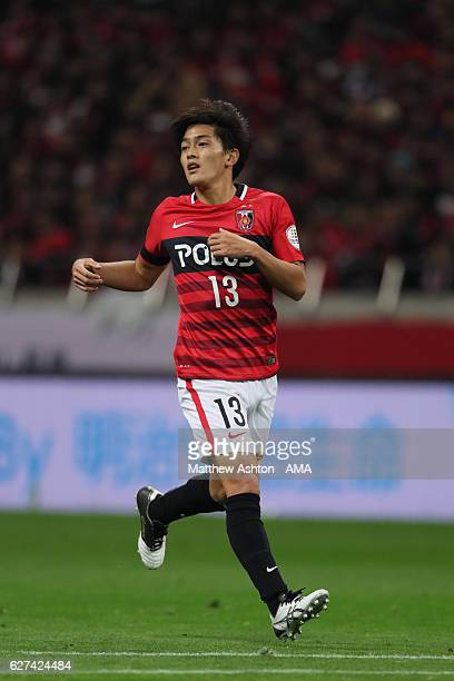 Toshiyuki Takagi of Urawa Red Diamonds during the JLeague Championship Final second leg match between Urawa Red Diamonds and Kashima Antlers at...