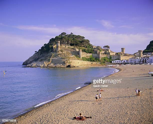Tossa de Mar, Costa Brava, Catalunya (Catalonia) (Cataluna), Spain, Europe