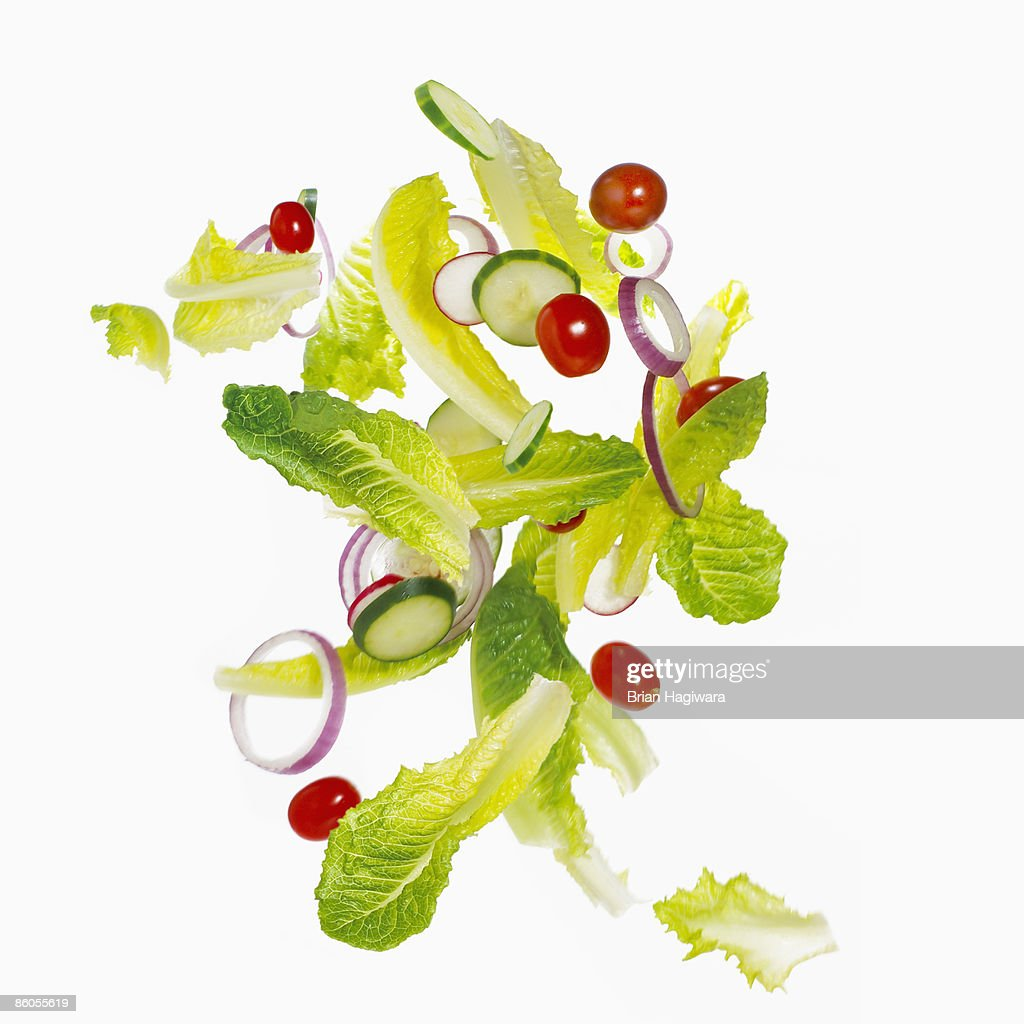 Tossed salad : Stock Photo