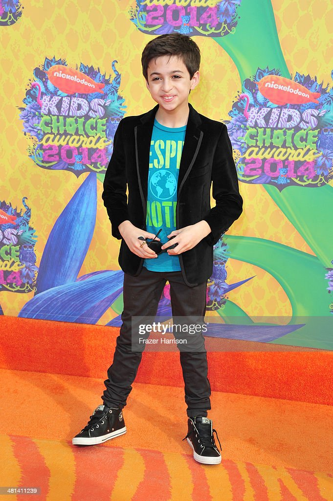 J.J. Totah attends Nickelodeon's 27th Annual Kids' Choice Awards held at USC Galen Center on March 29, 2014 in Los Angeles, California.