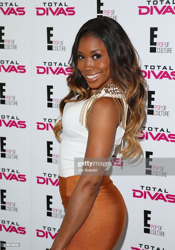Total Diva Cameron celebrates SummerSlam at the London West Hollywood on August 14, 2013 in West Hollywood, California.