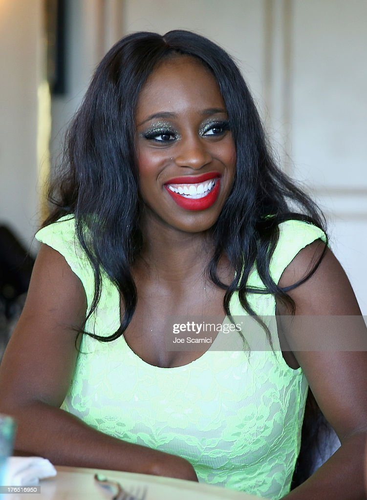 Total Diva Naomi celebrates SummerSlam at the London West Hollywood on August 14, 2013 in West Hollywood, California.