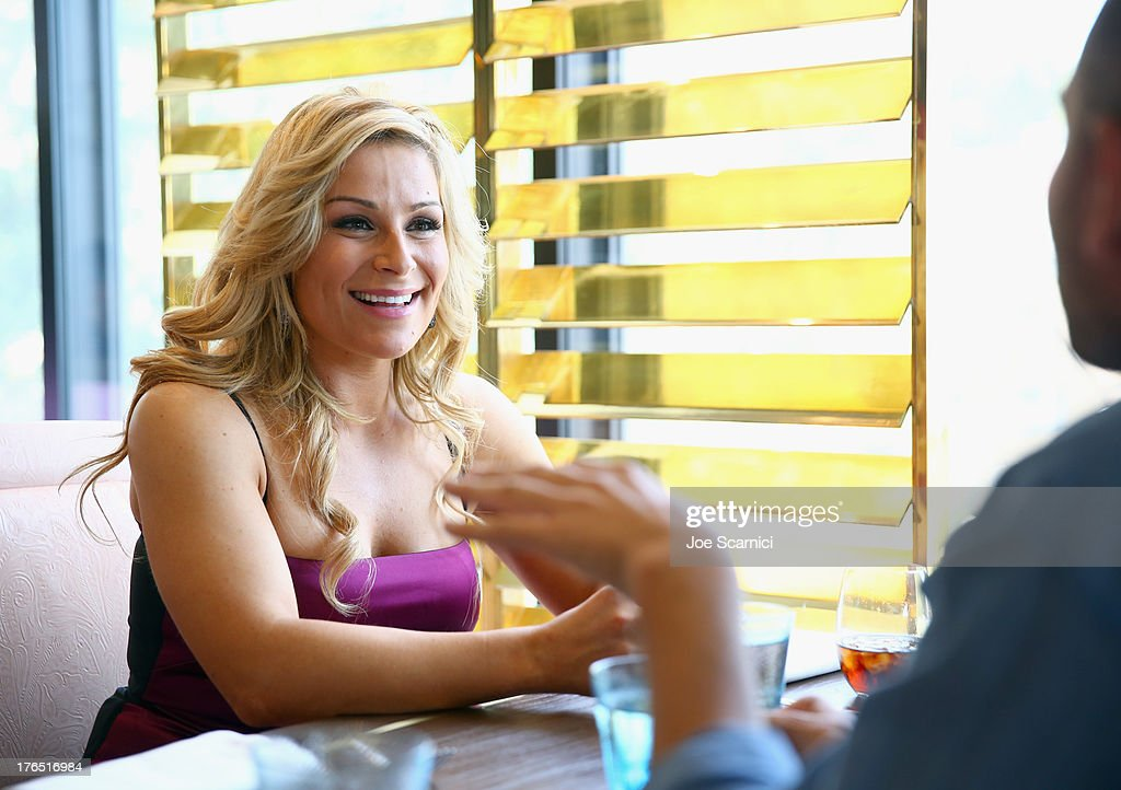 Total Diva Natalya celebrates SummerSlam at the London West Hollywood on August 14, 2013 in West Hollywood, California.