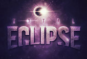 A striking banner graphic with a planet and star aligning in an eclipse, and large text spelling out 'Total Eclipse'