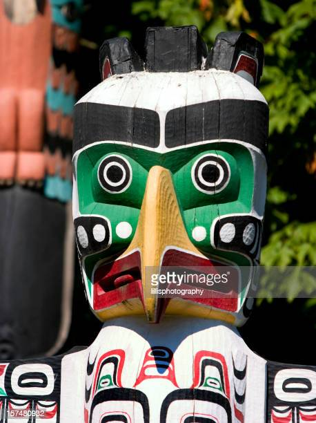 Totem Pole in Vancouver