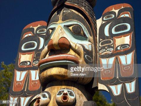Totem pole, Ketchikan, Alaska