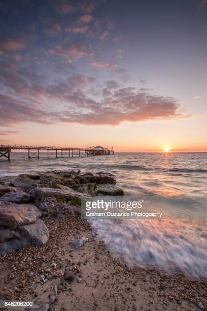 Totland Bay Sunset, Isle of Wight