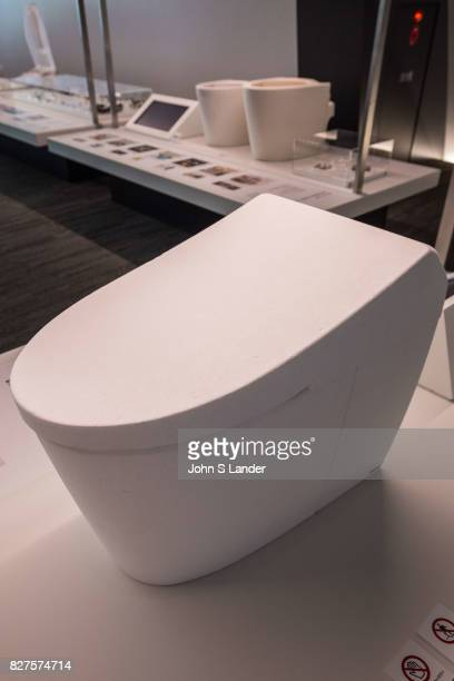 Toto Toilet Museum Japan makes some of the world's fanciest toilets  The Toto Museum's white shiny modern architectural design is probably no...