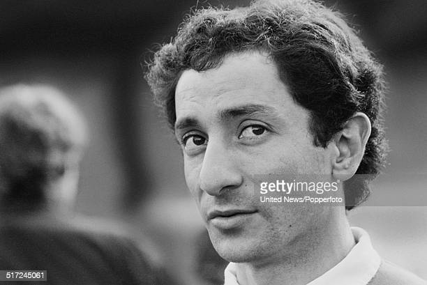 Tottenham Hotspur and Argentina footballer Osvaldo Ardiles pictured at a Spurs training session in London on 10th March 1982