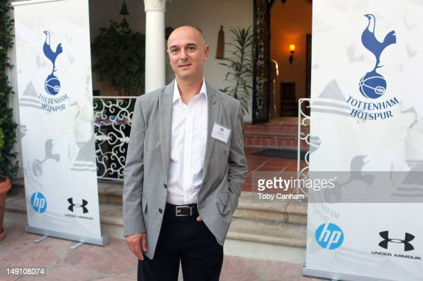 Tottenham Hotspur Chairman Daniel Levy attends the Tottenham Hotspur and LA Galaxy reception held at the British Consul Generals residence on July 22...