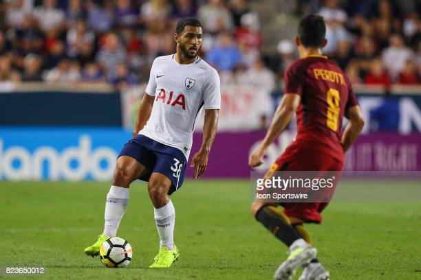 Tottenham Hotspur defender Cameron CarterVickers during the second half of the International Champions Cup soccer game between Tottenham Hotspur and...