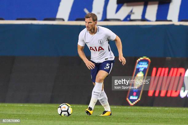 Tottenham Hotspur defender Jan Vertonghen during the first half of the International Champions Cup soccer game between Tottenham Hotspur and Roma on...