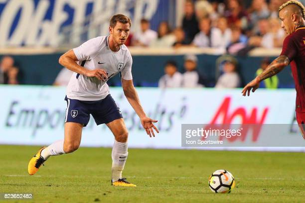 Tottenham Hotspur defender Jan Vertonghen during the second half of the International Champions Cup soccer game between Tottenham Hotspur and Roma on...