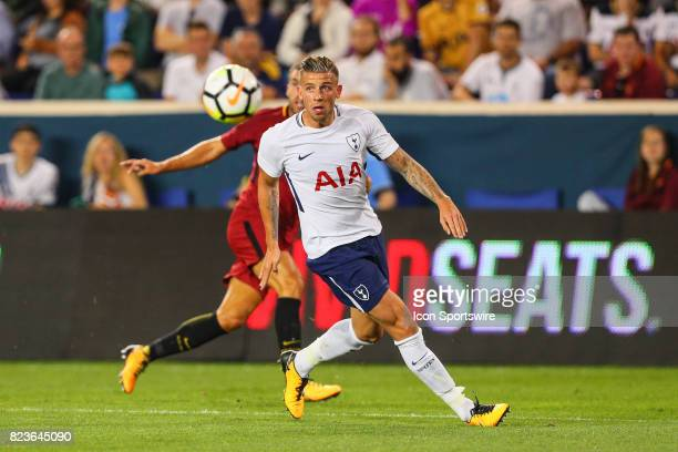 Tottenham Hotspur defender Toby Alderweireld during the second half of the International Champions Cup soccer game between Tottenham Hotspur and Roma...