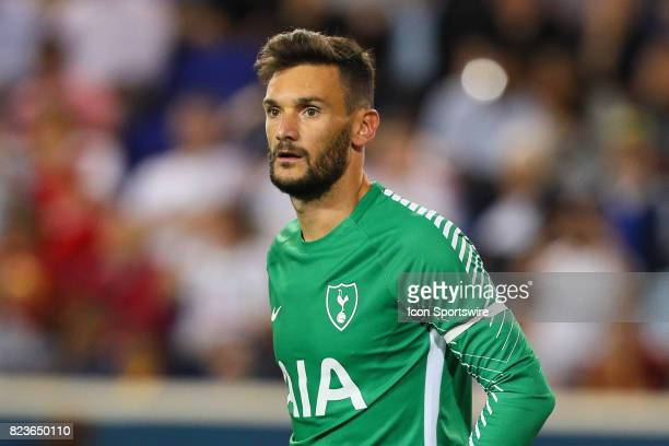 Tottenham Hotspur goalkeeper Hugo Lloris during the second half of the International Champions Cup soccer game between Tottenham Hotspur and Roma on...