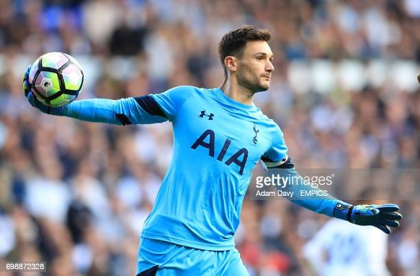 Tottenham Hotspur goalkeeper Hugo Lloris in action