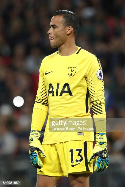 Tottenham Hotspur goalkeeper Michel Vorm
