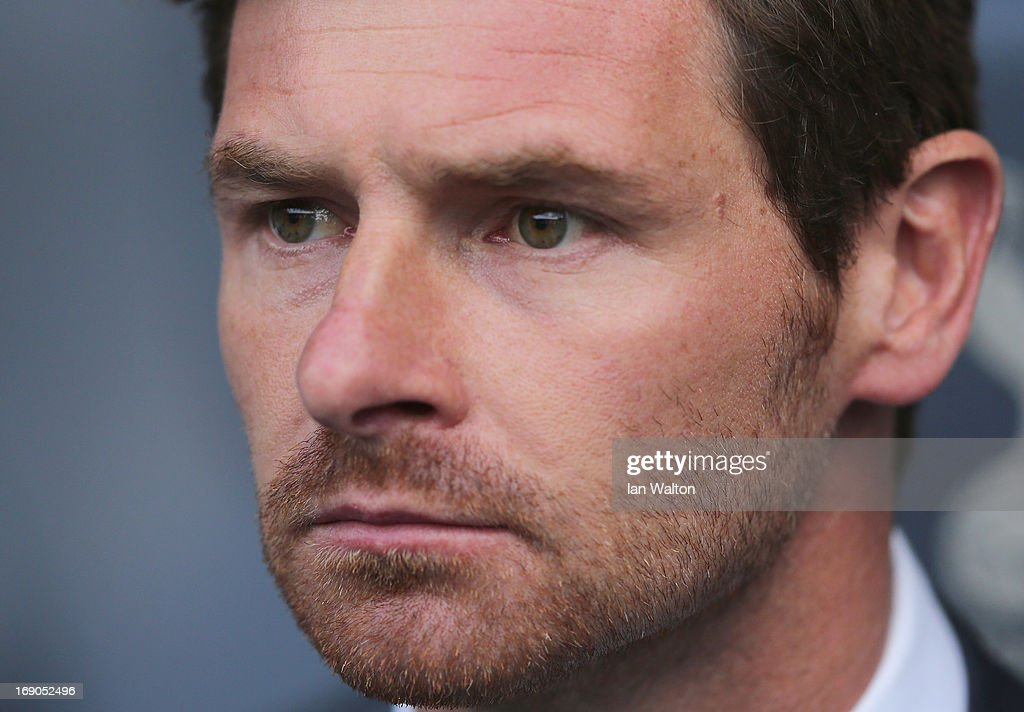 Tottenham Hotspur manager Andre Villas-Boas during the Barclays Premier League match between Tottenham Hotspur and Sunderland at White Hart Lane on May 19, 2013 in London, England.