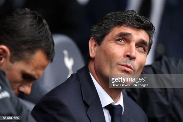Tottenham Hotspur manager Juande Ramos