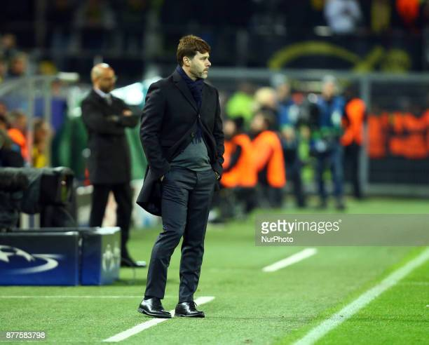 Tottenham Hotspur manager Mauricio Pochettino during UEFA Champion League Group H Borussia Dortmund between Tottenham Hotspur played at...