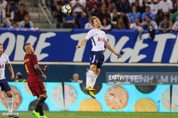 Tottenham Hotspur midfielder Christian Eriksen during the second half of the International Champions Cup soccer game between Tottenham Hotspur and...