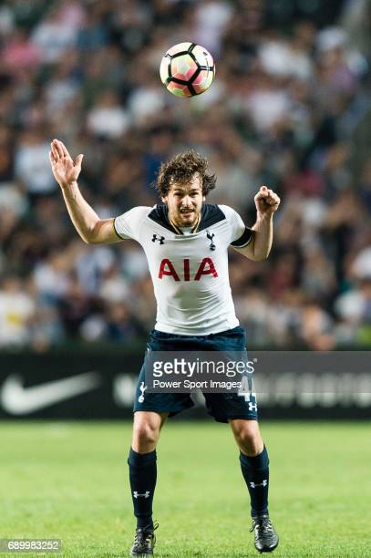 Tottenham Hotspur Midfielder Filip Lesniak during the Friendly match between Kitchee SC and Tottenham Hotspur FC at Hong Kong Stadium on May 26 2017...