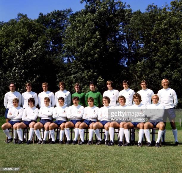 Alan Gilzean Martin Peters Martin Chivers Mike England Pat Jennings Ken Hancock Peter Collins Cyril Knowles Ray Evans Phil Beal Dennis Bond Joe...