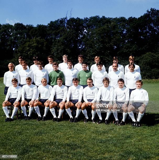 Tottenham Hotspur team group John Pratt Joe Kinnear Jimmy Pearce Terry Naylor David Jenkins Ray Bucknell John Collins John Cutbush Phil Beal Martin...